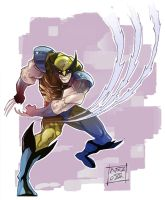 Yet another Wolvie but in yellow by Nezart