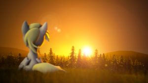 Derpy Sunrise [SFM] by argodaemon