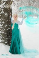 The cold never bothered me anyway... by Na-NaCos