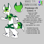 PreDesign Costume/Fursuit #9 by mars714