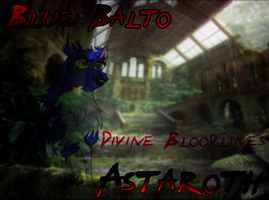 Blue Balto Okami Astaroth by Wolf-FX-Alex-Balto