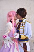 Euphemia and Suzaku Kiss by Aniki-Fair