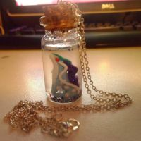 Bottled Suicune by delicioustrifle
