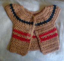 Baby girls cardigan by Dr-Raven
