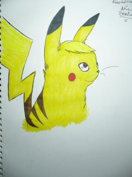Pikachu :3 by Umberondrawer