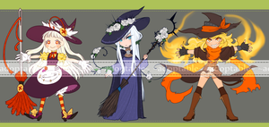 Witches Auction [CLOSED] by aketan-adopts