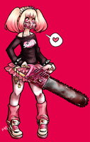 Chainsaw Girl by rap1993