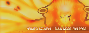 Naruto Bijuu Mode FB Cover Fan Page by SL4eva