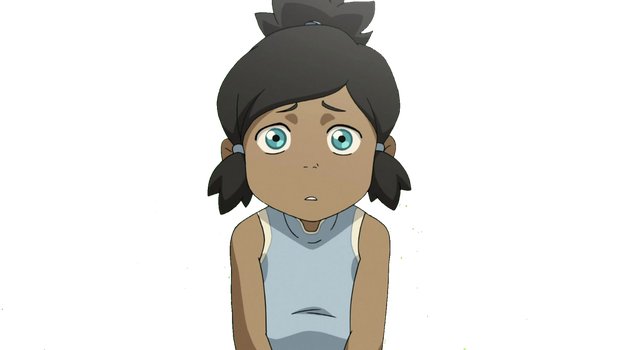 Young Korra Vector by waterbender412