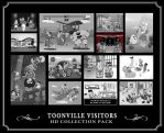 Toonville Visitors Collection by RedLittleHouse
