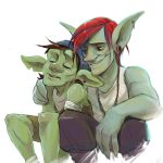 Two goblins by cumeoart