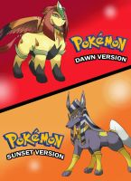Pokemon Dawn and Sunset Version by TheFresco