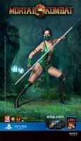 Jade cosplay Mortal Kombat 9 by Nemu013