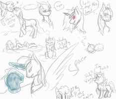 . : Live stream pony doodles : . by xxSkyler