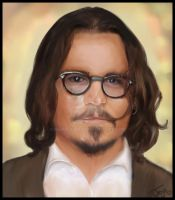 Johnny Depp by aurapandora