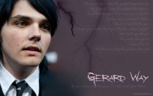 Gerard Way Wallpaper by likescarecrows