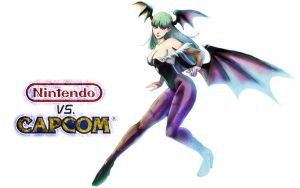 Nintendo vs Capcom - Morrigan by TheJayPhenrix