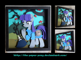 12 x 12 Maud Pie Shadowbox by The-Paper-Pony