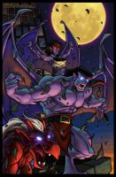 GARGOYLES 1 Comic Cover by bonegoddess