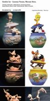 Cookie Jar - Looney Tunes, Warner Bros. by sculptor101