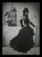 Raven Cage by bc-photography
