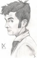 Character-A-Day: Tenth Doctor by SpaceHeroStudios