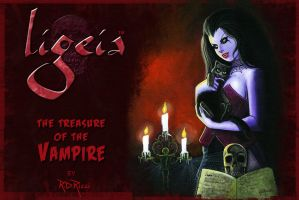 LIGEIA THE VAMPIRE-iPhone by rdricci