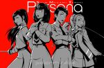 The ladies of Persona by polarityplus
