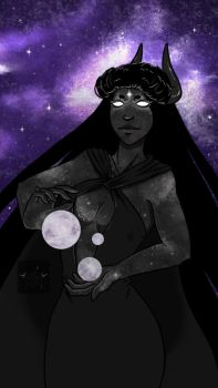 Mother of moons by bloodyluv