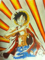Luffy by Draw4fun2