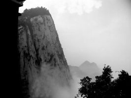 Hua Shan Mountain by ironheart-esteem