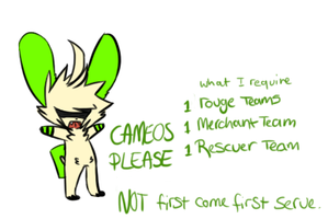 Cameos Please? - CLOSED by CH3CK3RED-R3TR0