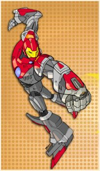 ultimate iron man by m7781