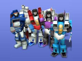 Sims: Decepticons by Sanguijuela