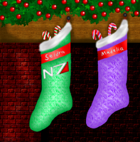 Shepard Sisters' Stockings by LadyIlona1984