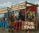 Iron Kingdom's Job Fair by CreationMatrix