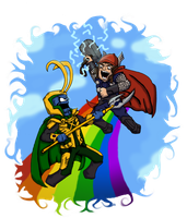 Asgard Adventures by jakester2008