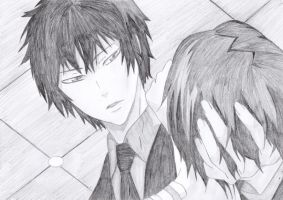 Hibari and Chrome by Emma-Grave