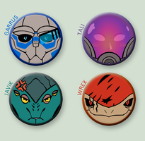 Mass Effect buttonz 1 by Crono8