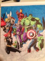 Avengers 2013 by Lionzstorm
