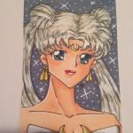 Queen Serenity ATC no.2 by JessLynne1227
