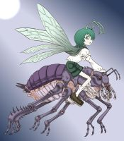 Wriggle Nightbug by ikura-maru