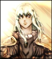 Griffith - Berserk - Hawk of light by DecaySlacker