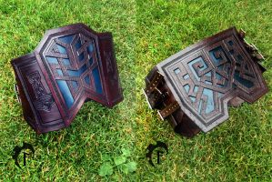 Dwarvish Leather Belt by Feral-Workshop