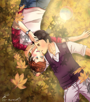 Autumn Klaine c: by MilkyCup