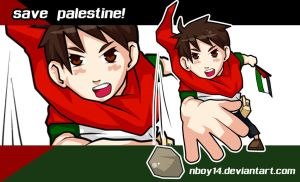 Hero child Palestine wp by nboy14 by nboy14