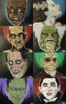 Universal Monsters by ZMBGraphics