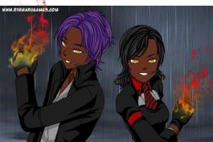 thrax and me: mission by Devilgirl007