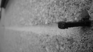 Nail in concrete by veilside000
