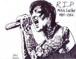 R.I.P Mitch Lucker by peacmaker101